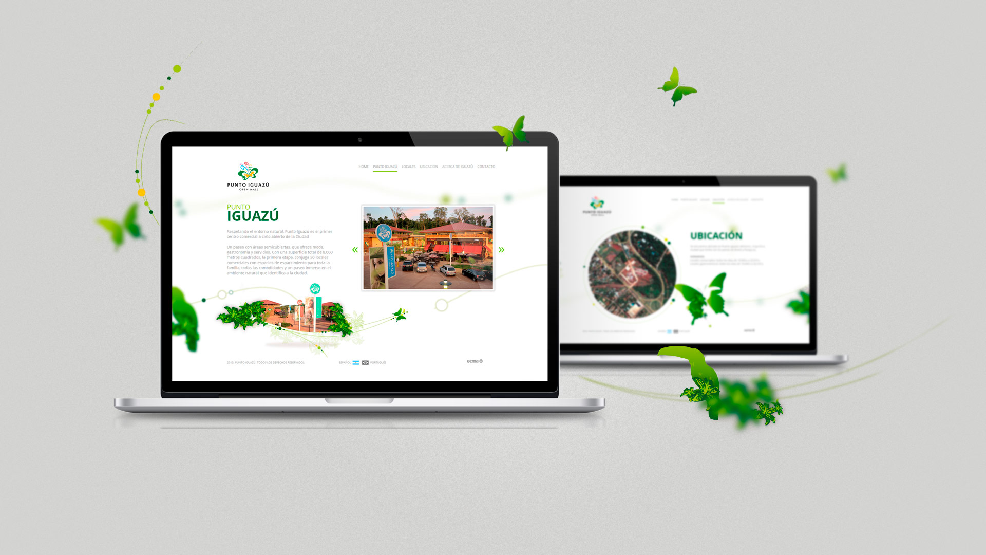 Punto Iguazu - Website